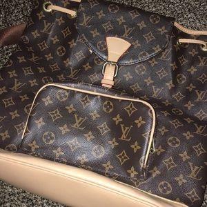 Vintage LV backpack